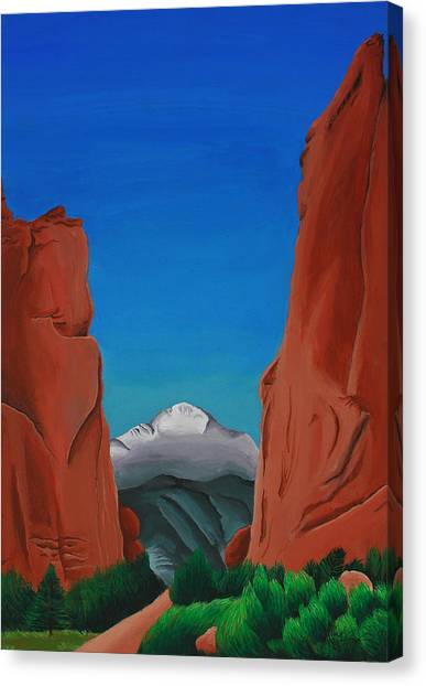 Gateway Horizon Canvas Print