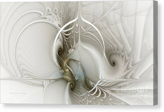 Gateway To Heaven-fractal Art Canvas Print
