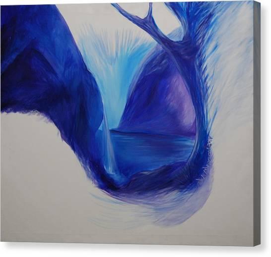 Gateway To Life Canvas Print by Amy Stewart Hale