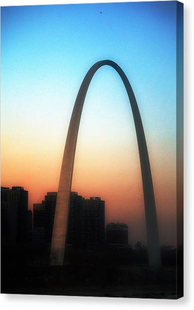Gateway To The West Canvas Print