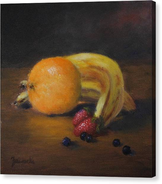 Gathering Of Fruit Canvas Print