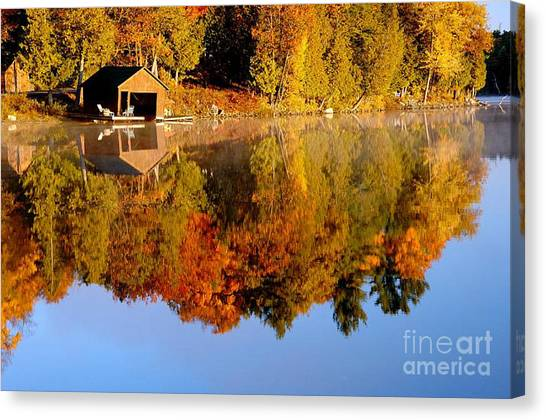 Gatineau Park Taylor Lake Canvas Print
