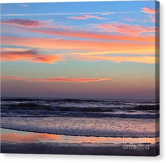Gator Sunrise 10.31.15 Canvas Print