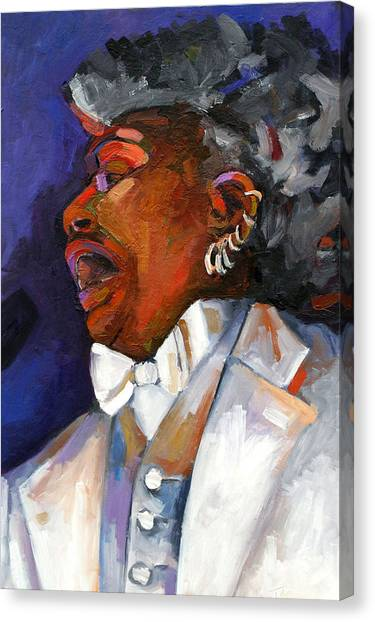 Gaye Adegbalola Canvas Print by Jackie Merritt