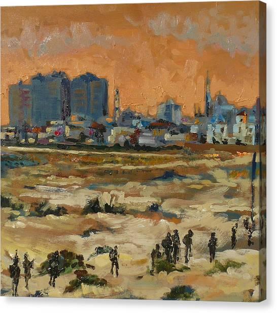 Gaza Landscape 021 Canvas Print by Gavin Sane