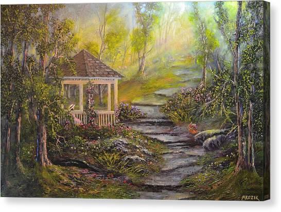 Gazebo's Light Canvas Print