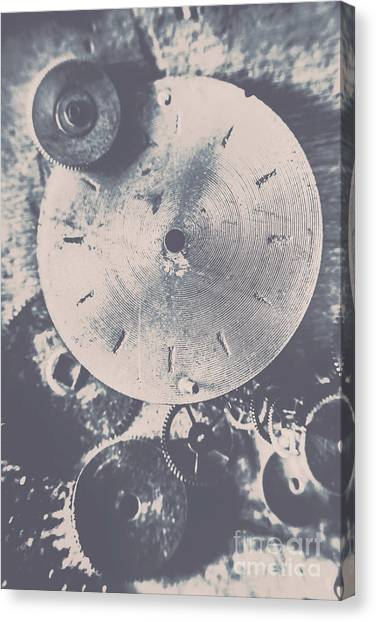 Steampunk Canvas Print - Gears Of Old Industry by Jorgo Photography - Wall Art Gallery
