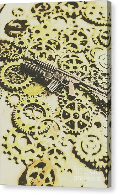 Special Forces Canvas Print - Gears Of War by Jorgo Photography - Wall Art Gallery