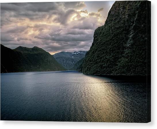Geiranger Fjord Canvas Print