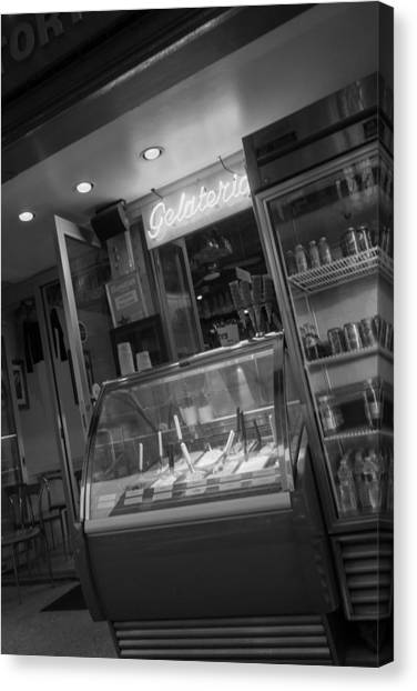 Gelateria Canvas Print