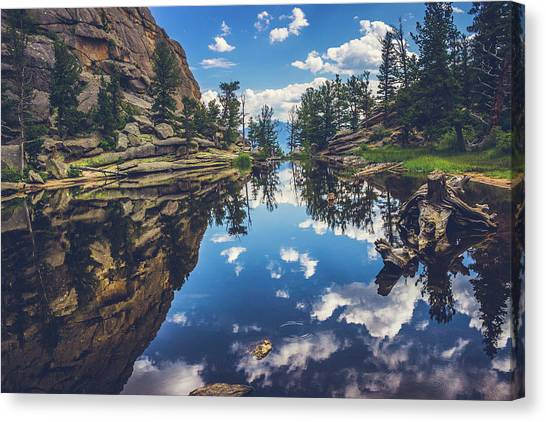 Gem Lake Reflections Canvas Print