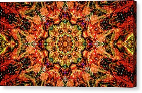 Gem Pattern Canvas Print