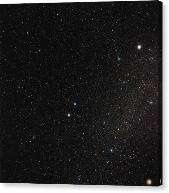 Stellar Canvas Print - Gemini Constellation by Eckhard Slawik