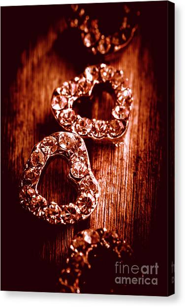 Present Canvas Print - Gems Of Fashionable Romance by Jorgo Photography - Wall Art Gallery