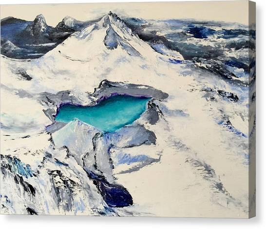 Gemstone Lake Canvas Print