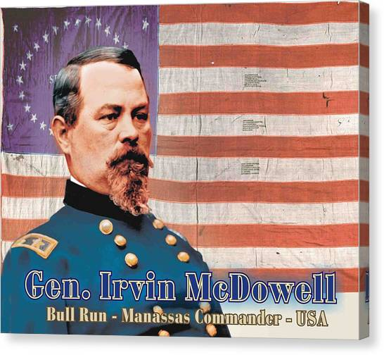 Gen. Irvin Mcdowell Canvas Print