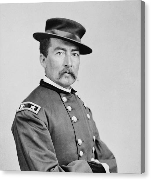 Us Civil War Canvas Print - General Sheridan by War Is Hell Store