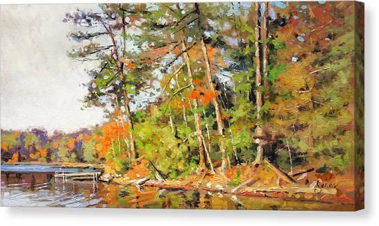 Generations Shore Canvas Print by Larry Seiler