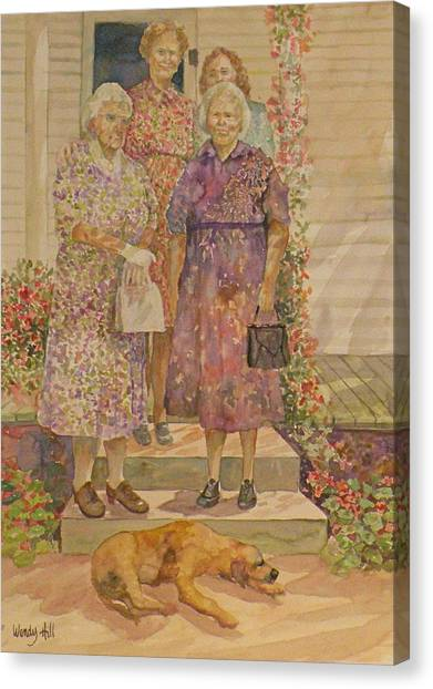 Generations Canvas Print by Wendy Hill