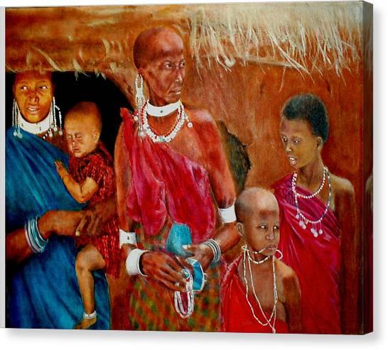 Generations3 Canvas Print by G Cuffia