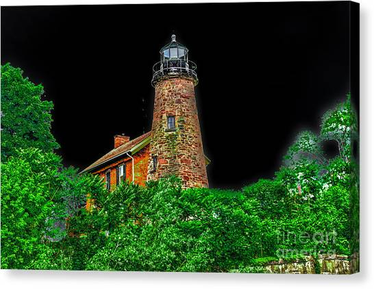 Genesee Lighthouse Canvas Print