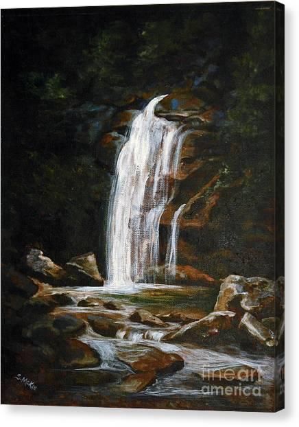 Genesis Canvas Print by Suzanne McKee