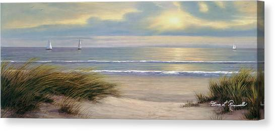 Gentle Breeze Panoramic Canvas Print