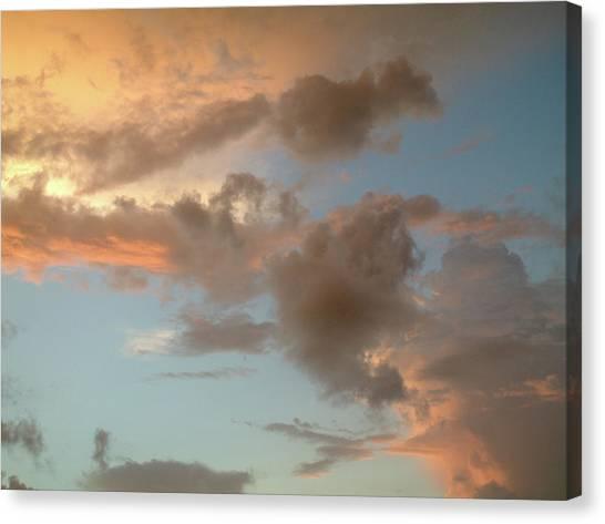 Gentle Clouds Gentle Light Canvas Print