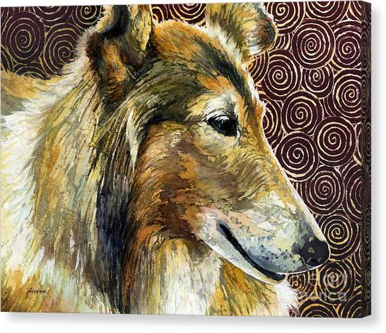 Texas A Canvas Print - Gentle Spirit - Reveille Viii by Hailey E Herrera