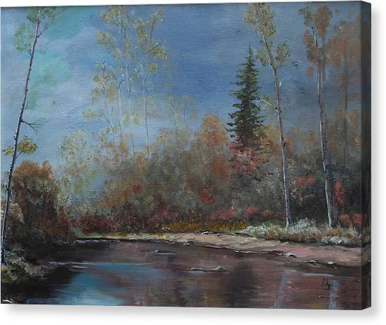 Gentle Stream - Lmj Canvas Print