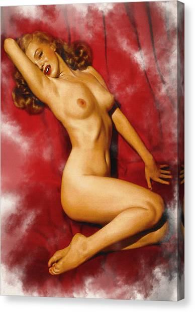 Gentlemen Prefer Blondes Canvas Print
