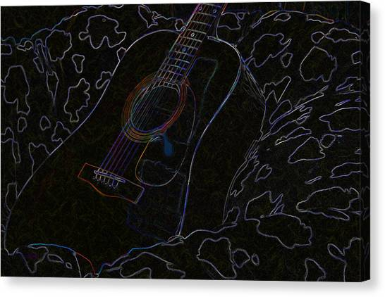Gently Weeps Canvas Print