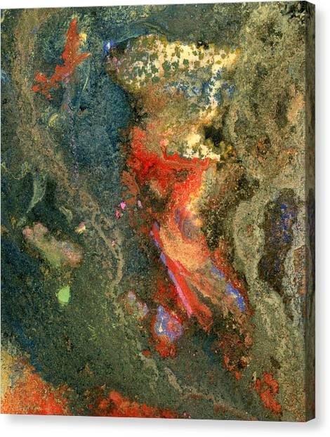 Geology-volcanic Canvas Print