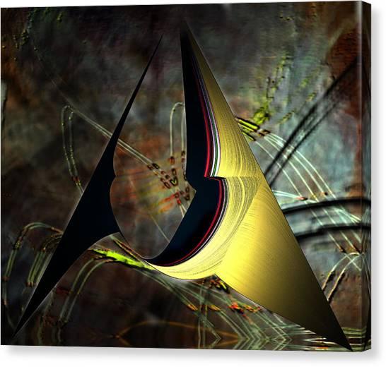 Geometric Abstract Canvas Print