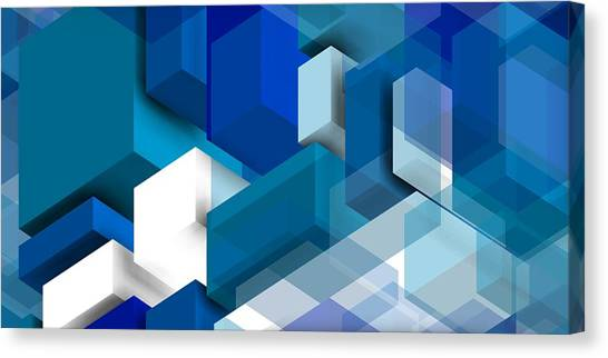 Abstract Composition  Canvas Print