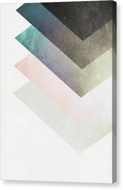 Geometric Layers Canvas Print