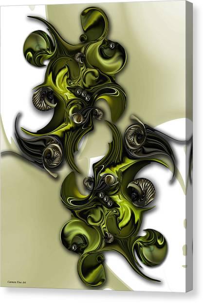 Canvas Print - Geometric Pole by Carmen Fine Art