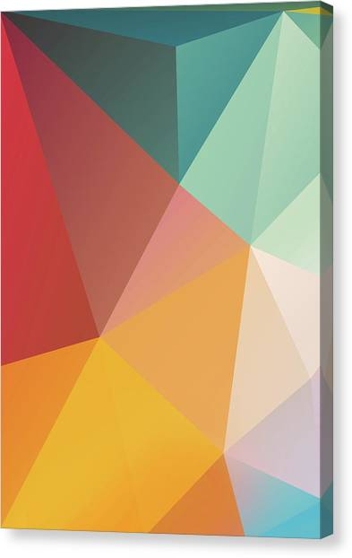 Canvas Print - Geometric Xxix by Ultra Pop