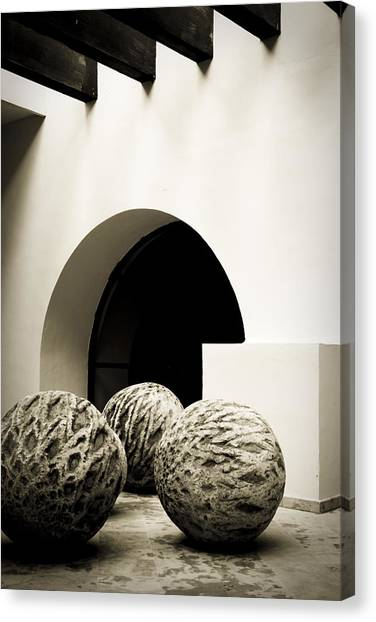 Geometries Canvas Print