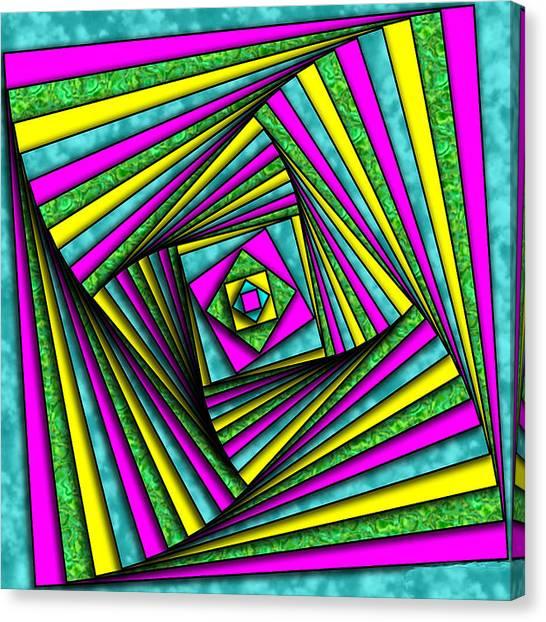 Geometry Art Canvas Print