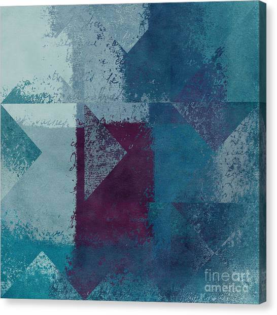 Squares Canvas Print - Geomix 03 - S122bt2a by Variance Collections