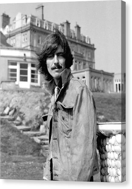 George Harrison Canvas Print - George Harrison Beatles Magical Mystery Tour by Chris Walter
