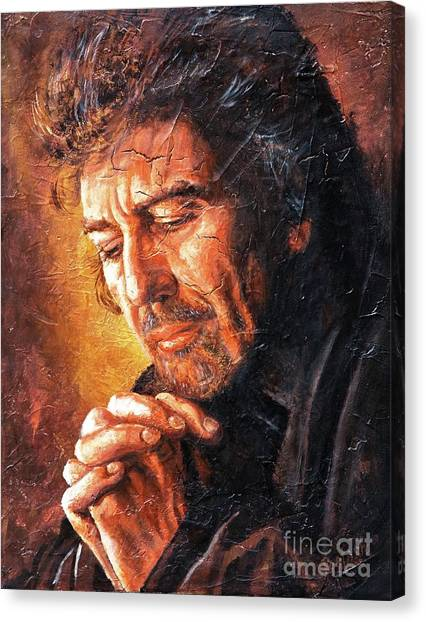 George Canvas Print