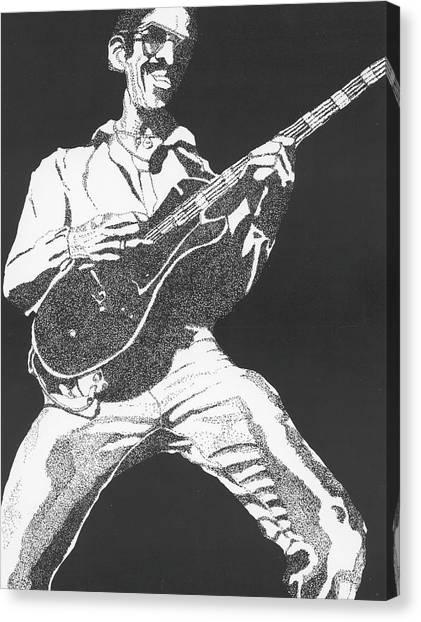 George Johnson Canvas Print