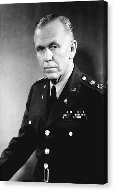 Air Force Canvas Print - George Marshall by War Is Hell Store