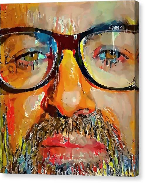 George Michael Tribute 2 Canvas Print