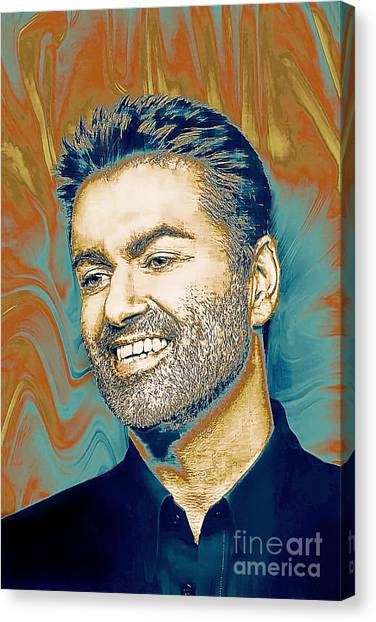 George Michael - Tribute  Canvas Print