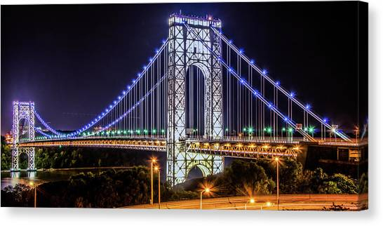 George Washington Bridge - Memorial Day 2013 Canvas Print