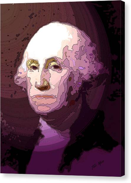 George Washington Canvas Print by Tray Mead