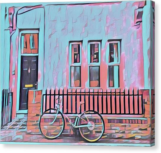 Georgetown Cycle Canvas Print